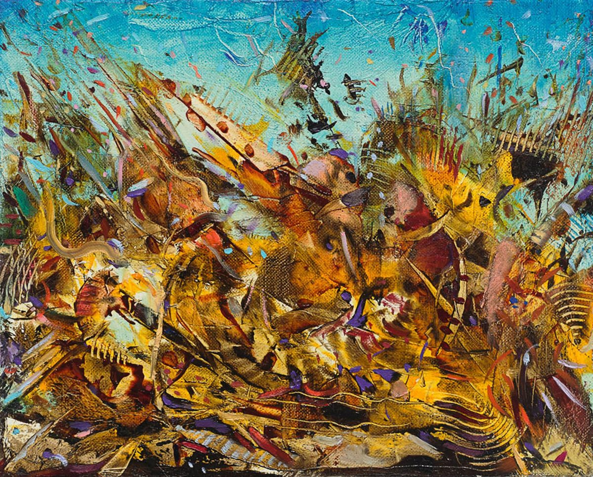 Ali Banisadr At Once 2015 Installation View Courtesy The Artist And Blain Southern Photo Peter Mallet 8