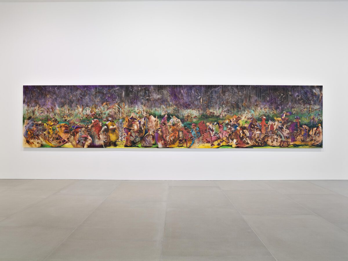 Ali Banisadr At Once 2015 Installation View Courtesy The Artist And Blain Southern Photo Peter Mallet 9