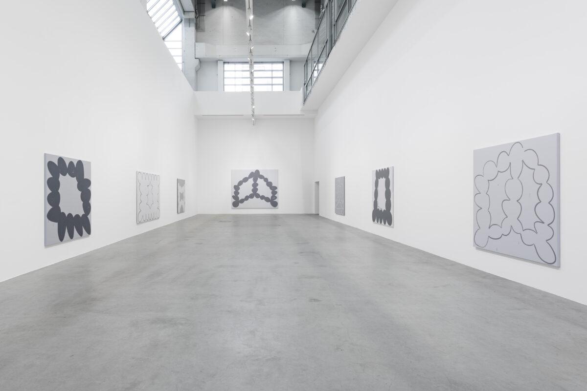 Amy Feldman, Breath Myth, Installation View, 2017, Blain|Southern Berlin, Photo: Trevor Good