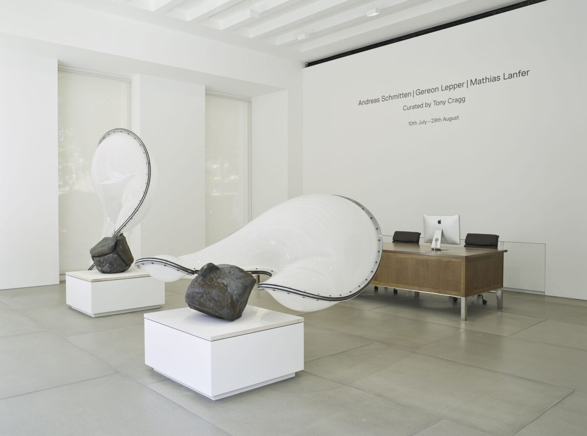 Andreas Schmitten Gereon Lepper And Mathias Lanfer Curated By Tony Cragg 2015 Installation View 6