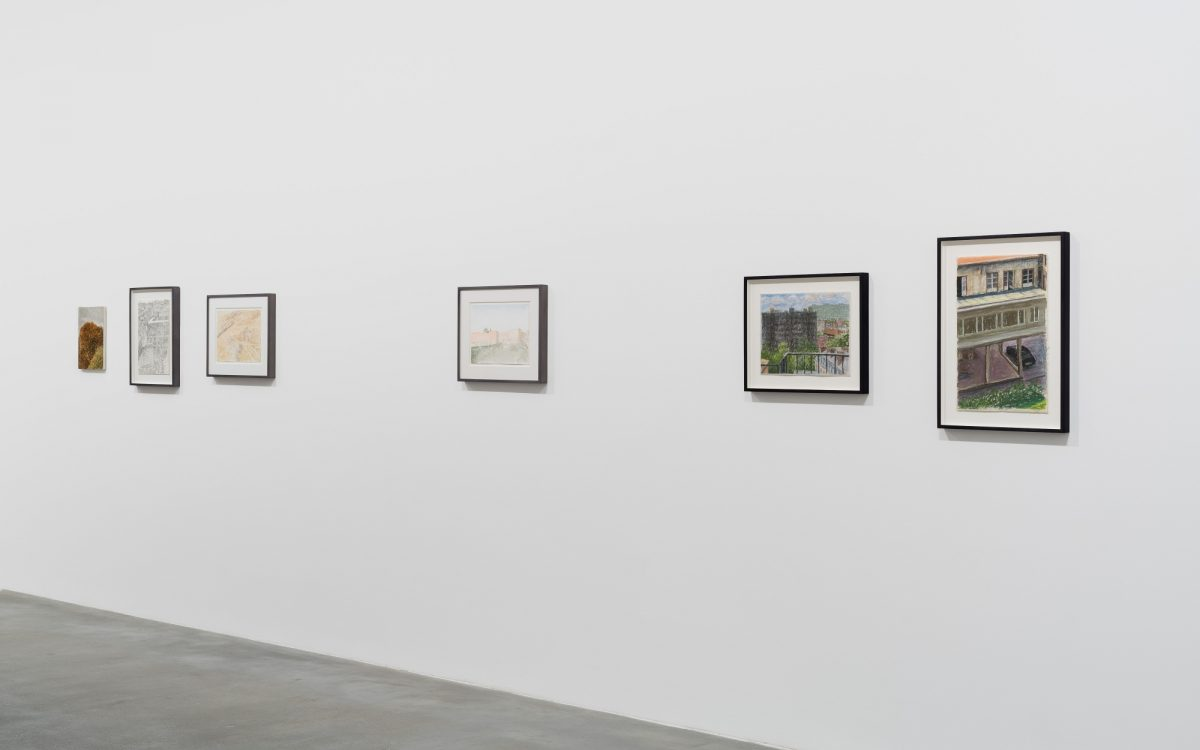 Avigdor Arikha, 'Landscapes', Installation View, 2018, Courtesy the Estate of Avigdor Arikha and Blain|Southern, Photo: Trevor Good