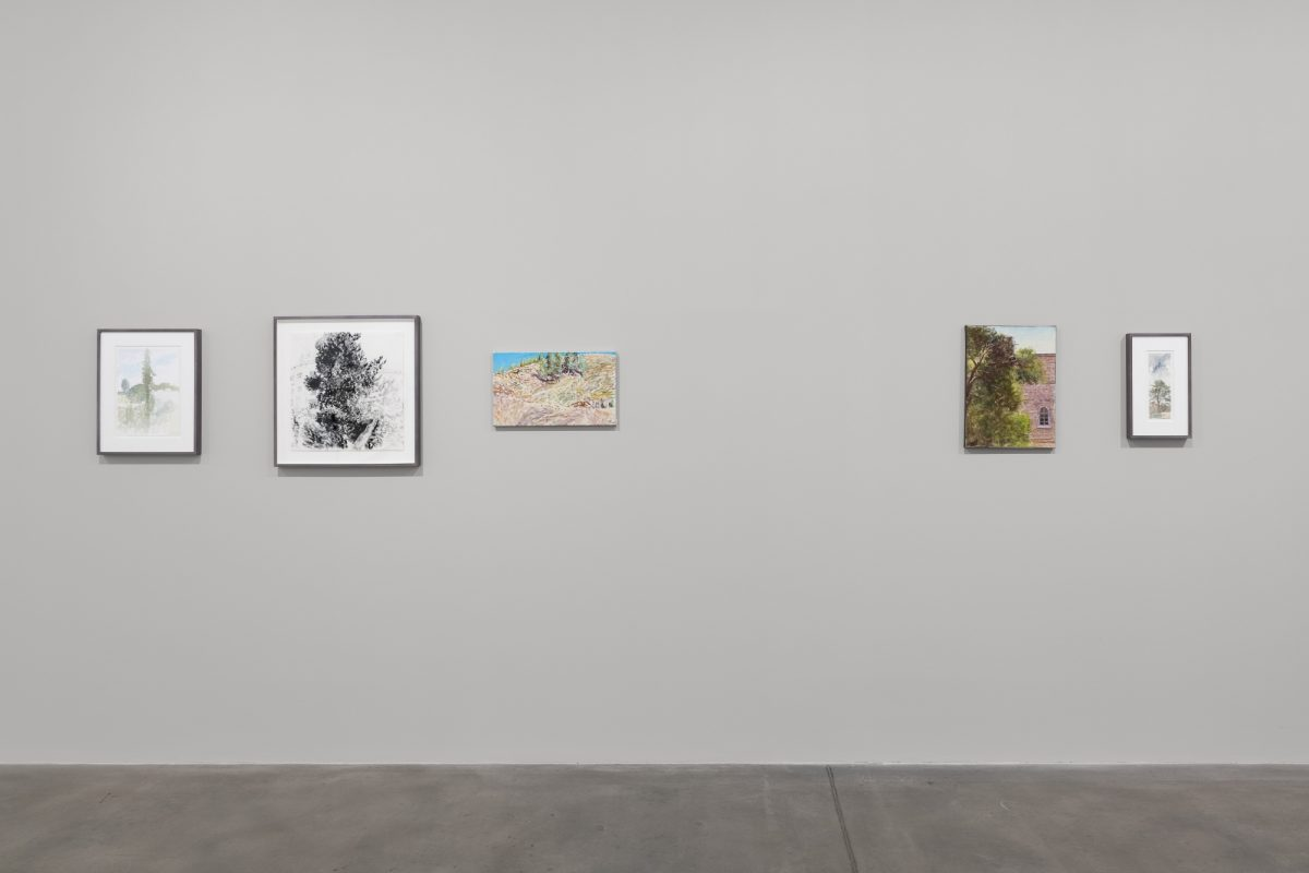 Avigdor Arikha, 'Landscapes', Installation View, 2018, Courtesy the Estate of Avigdor Arikha and Blain|Southern, Photo: Trevor Good