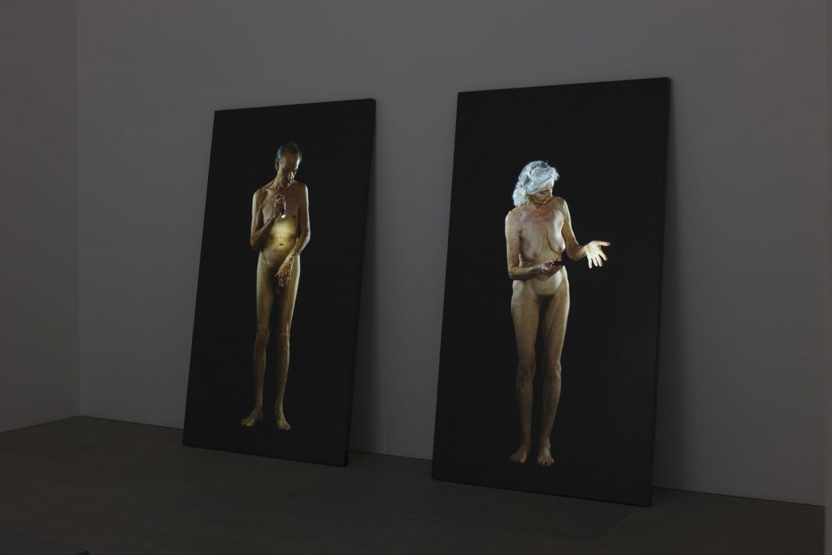 Bill Viola Frustrated Actions And Futile Gestures 2013 Installation View 10