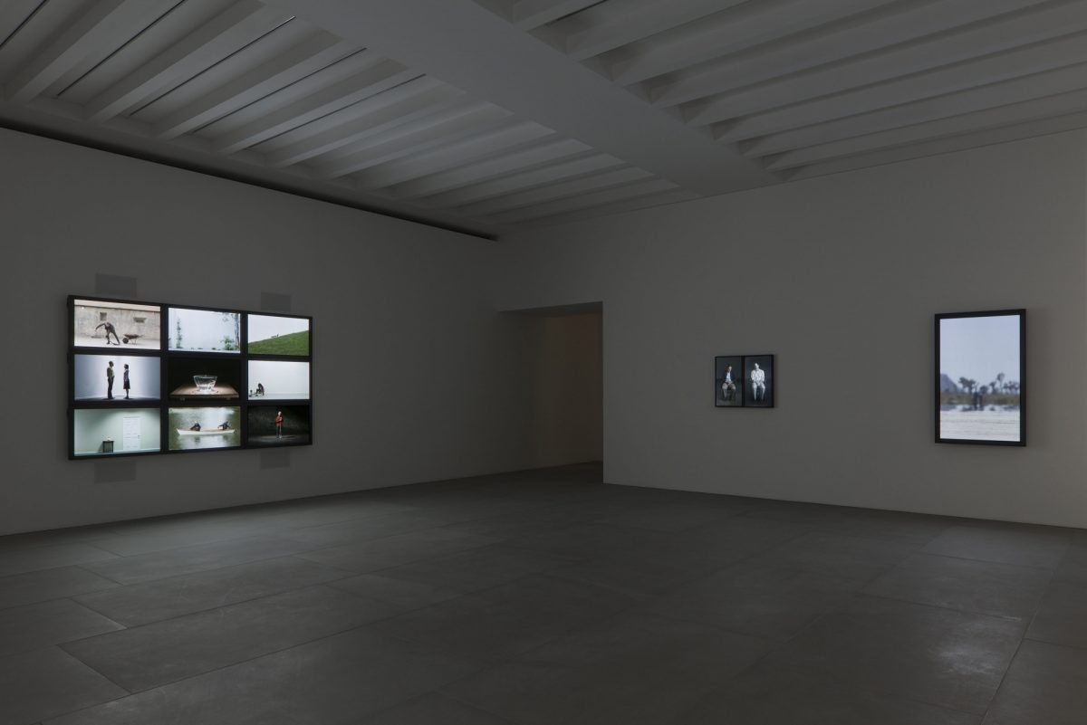 Bill Viola Frustrated Actions And Futile Gestures 2013 Installation View 5