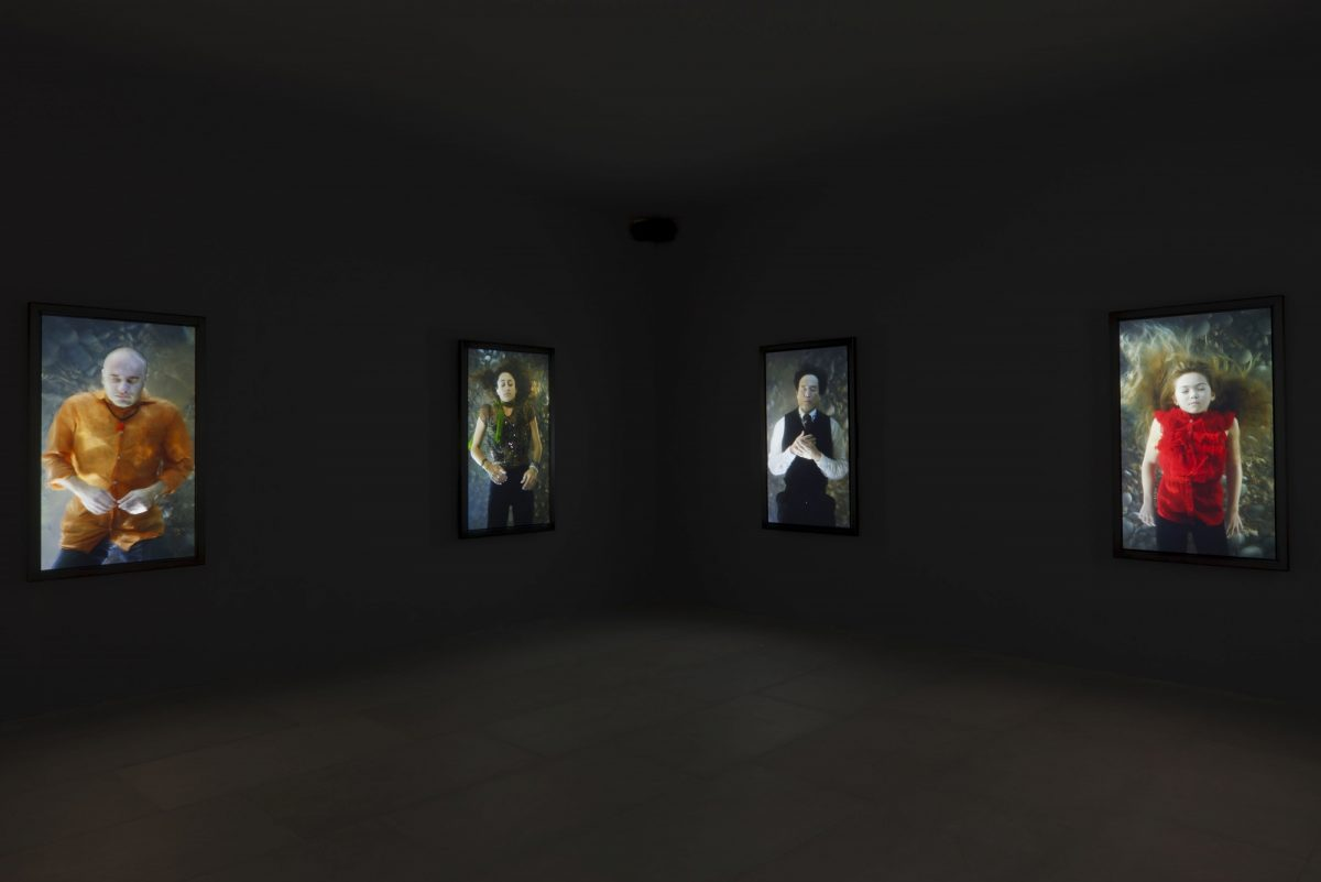 Bill Viola Frustrated Actions And Futile Gestures 2013 Installation View 6