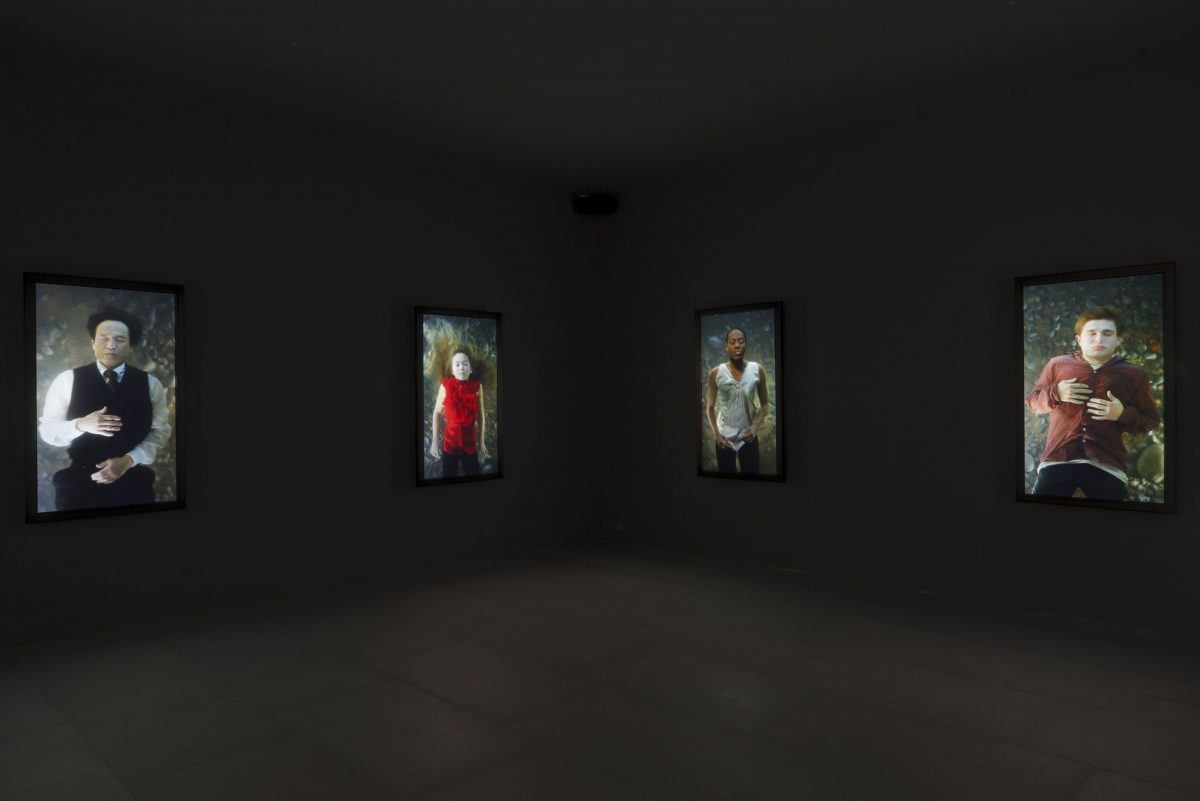 Bill Viola Frustrated Actions And Futile Gestures 2013 Installation View 7