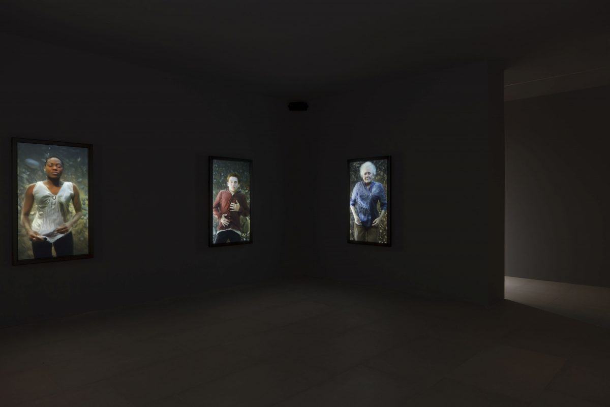 Bill Viola Frustrated Actions And Futile Gestures 2013 Installation View 8