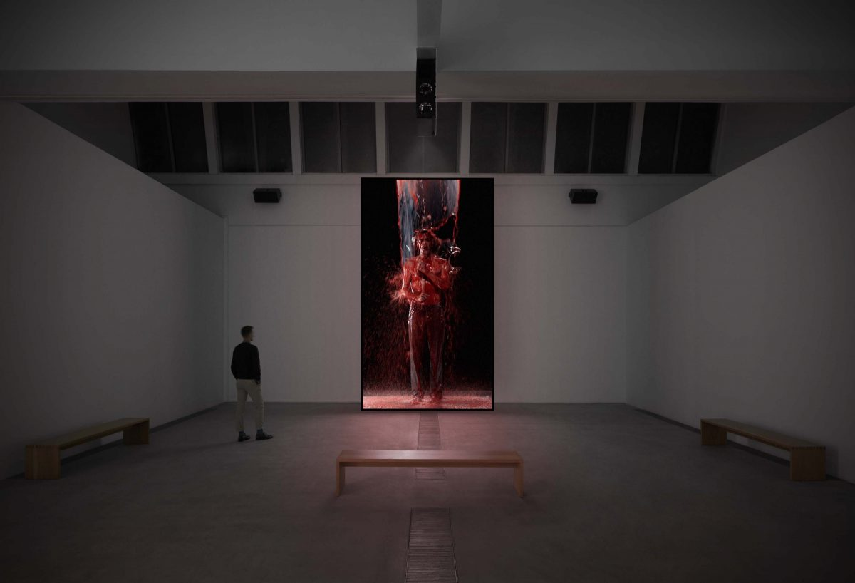Bill Viola Inverted Birth 2014 Image Courtesy The Artist And Faurschou Foundation Beijing Low Res
