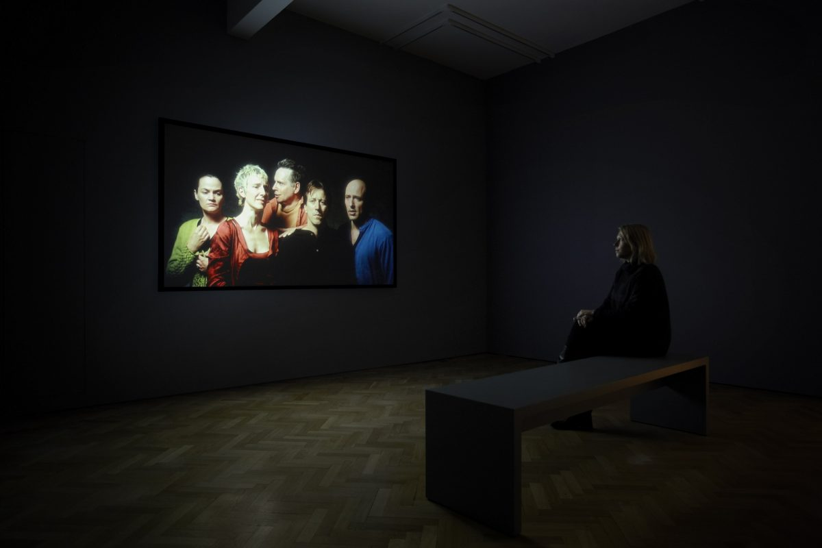 Bill Viola, The Quintet of the Unseen, Installation View, 2011, Blain|Southern