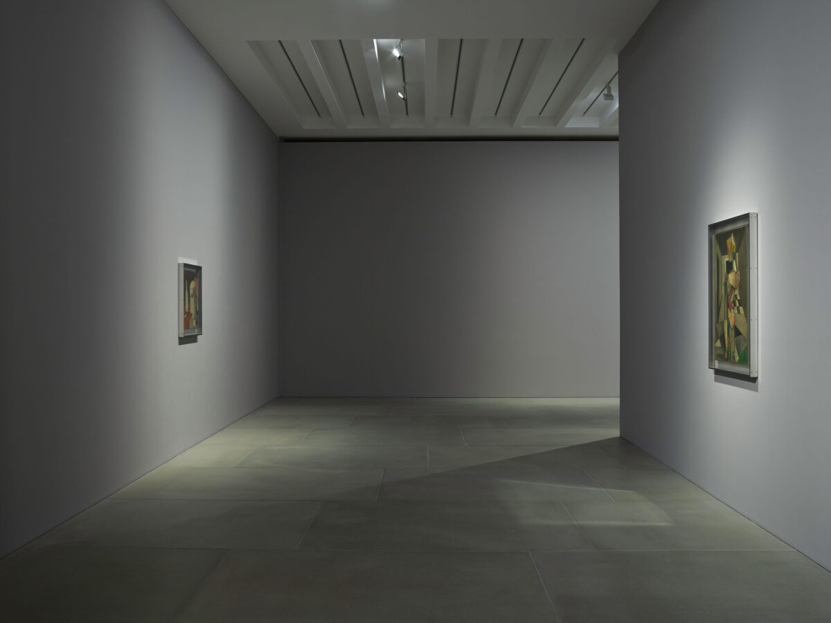 Carlo Carrà Metaphysical Painting 2016 Installation View Blain Souther 2