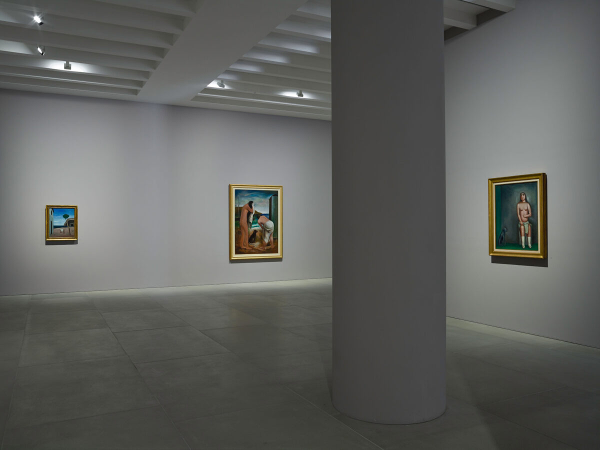 Carlo Carrà Metaphysical Painting 2016 Installation View Blain Souther 5