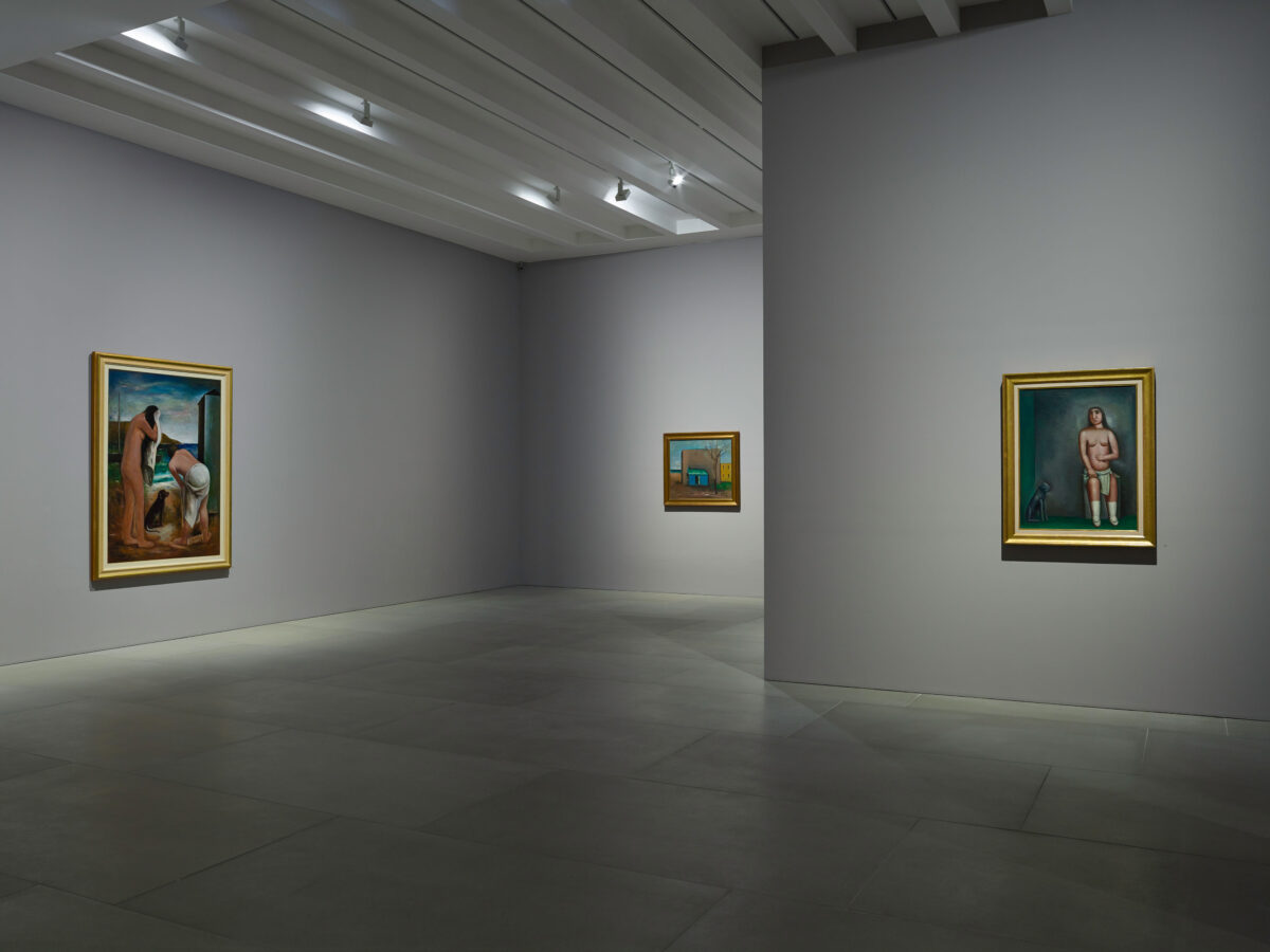 Carlo Carrà Metaphysical Painting 2016 Installation View Blain Southern 0