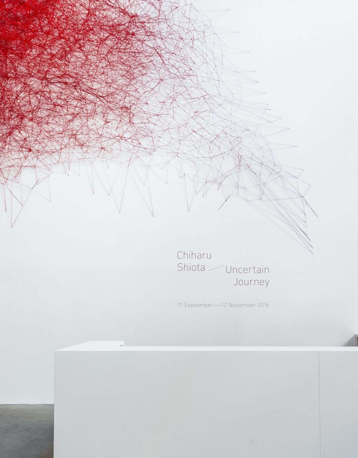Chiharu Shiota Uncertain Journey 2016 Installation View Courtesy The Artist And Blain Southern Photo Christian Glaeser 6
