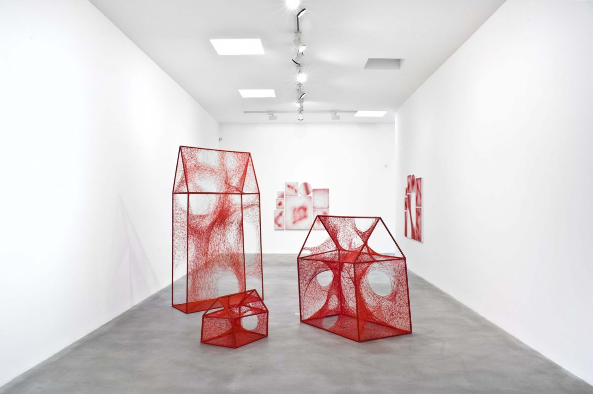 Chiharu Shiota Uncertain Journey 2016 Installation View Courtesy The Artist And Blain Southern Photo Christian Glaeser 7