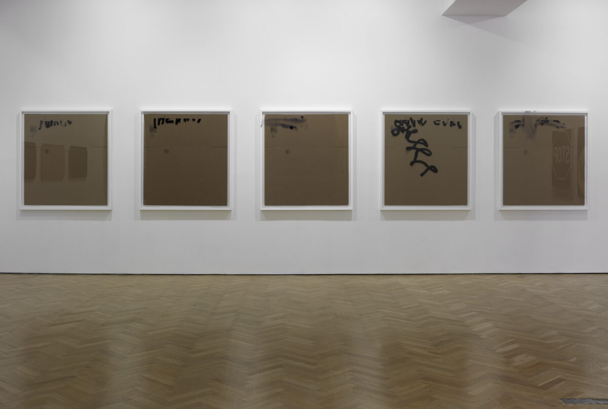 Concatenation Signature Seriality Painting 2012 Installation View Courtesy The Artist And Blain Southern 5