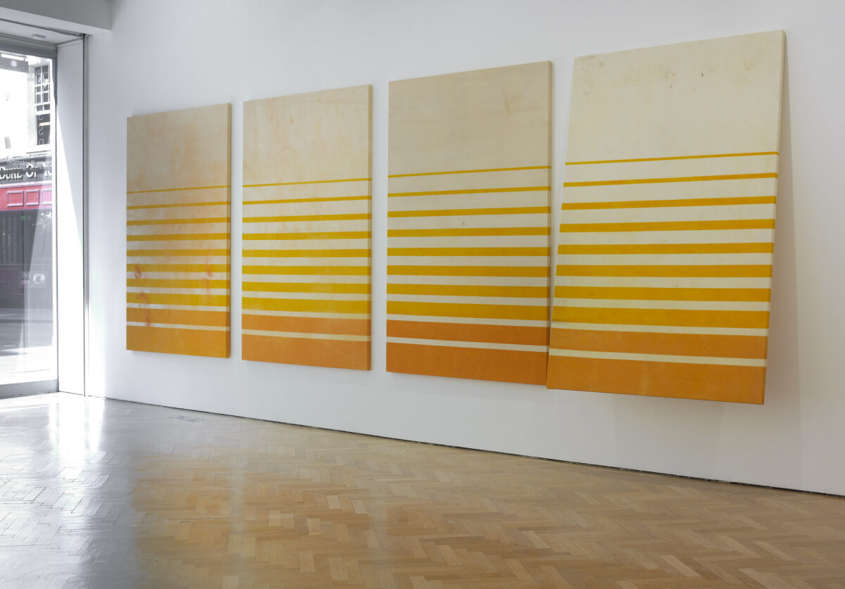 Concatenation Signature Seriality Painting 2012 Installation View Courtesy The Artist And Blain Southern 9