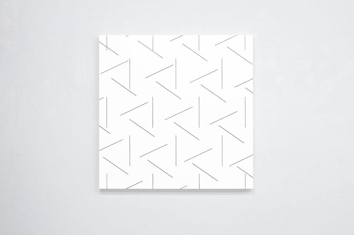 François Morellet Dash Dash Dash 2015 Installation View 3