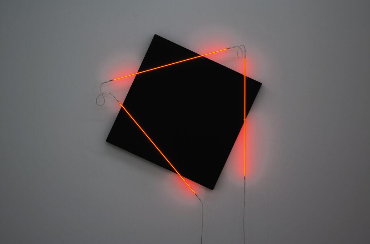 François Morellet Dash Dash Dash 2015 Installation View 4