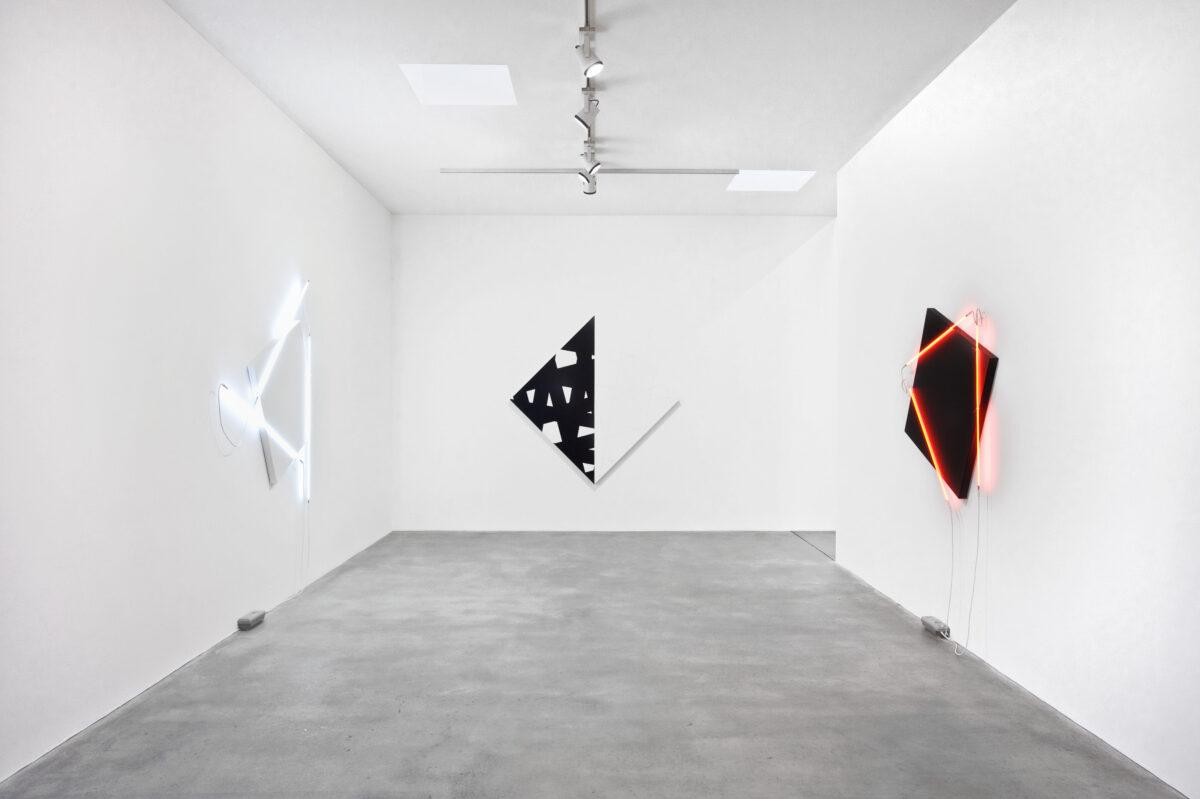François Morellet Dash Dash Dash 2015 Installation View 5