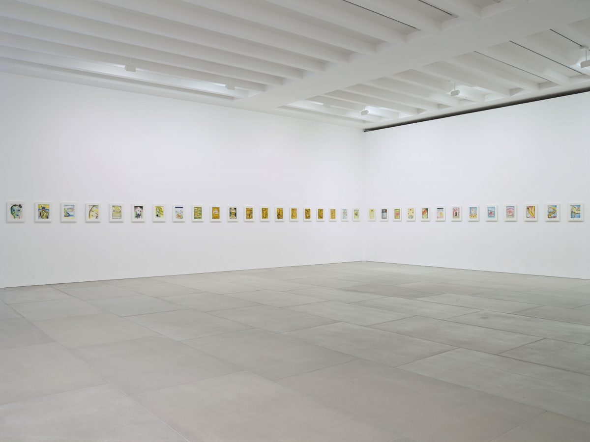 Francesco Clemente Emblems Of Transformation 2015 Installation View 12