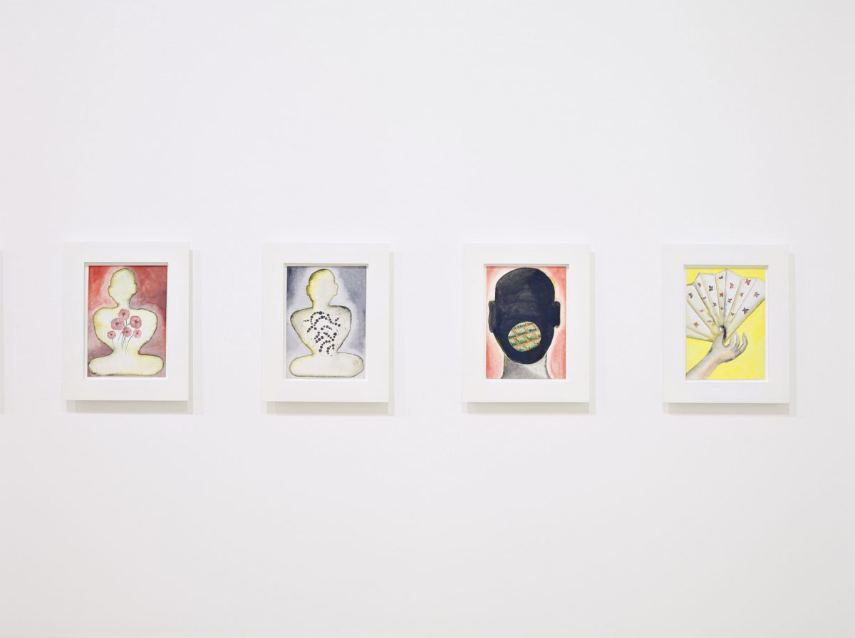 Francesco Clemente Emblems Of Transformation 2015 Installation View 3