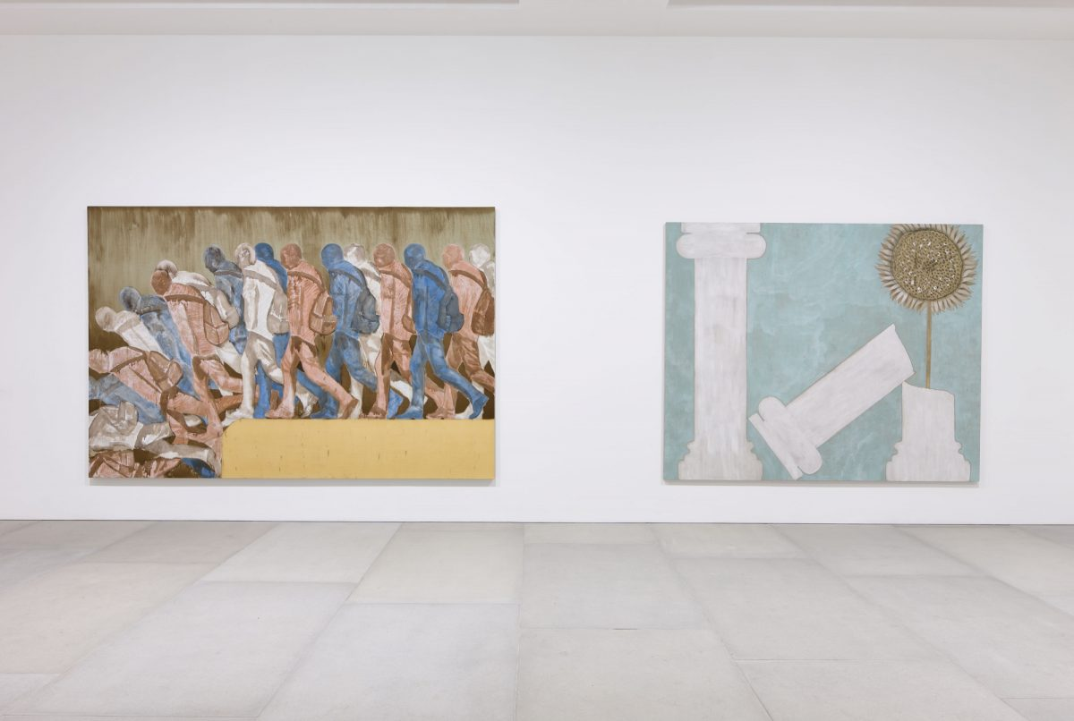 Francesco Clemente Mandala For Crusoe 2012 Installation View Blain Southern Photo Peter Mallet 3