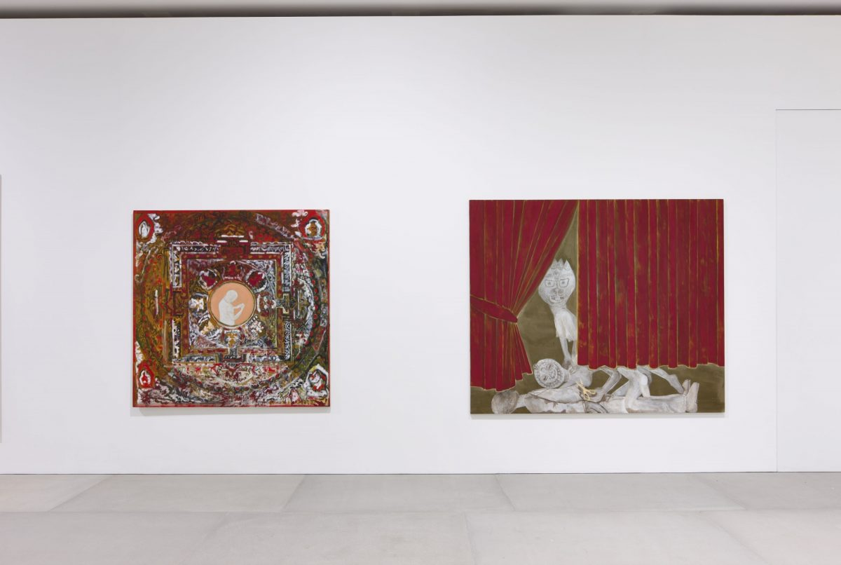 Francesco Clemente Mandala For Crusoe 2012 Installation View Blain Southern Photo Peter Mallet 4