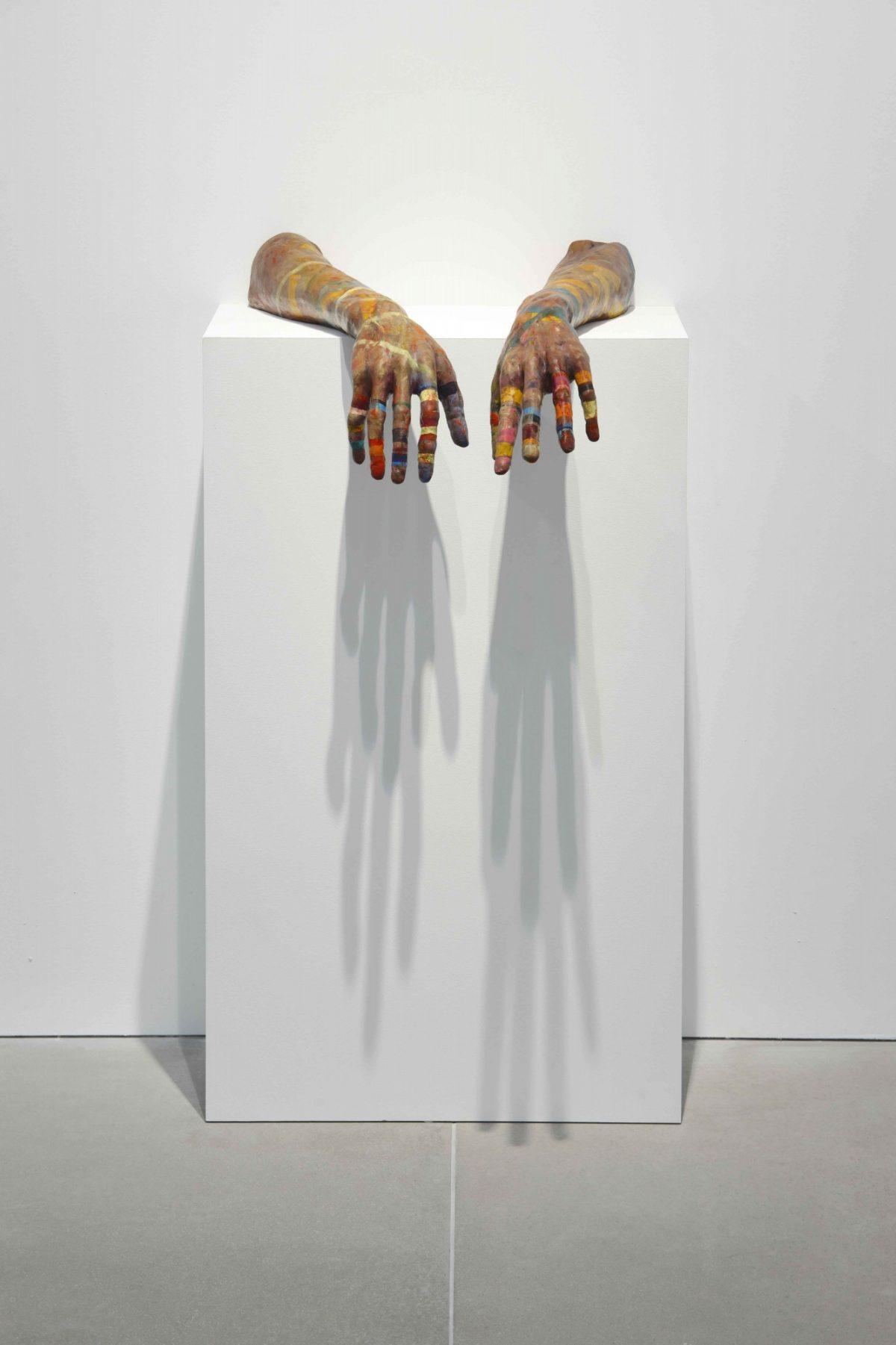 Jonas Burgert Stück Hirn Blind 2014 Installation View Blain Southern Photo Peter Mallet 1