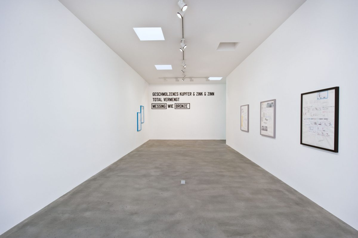 Lawrence Weiner Concentricity Per Se 2012 Installation View Courtesy The Artist And Blain Southern 4