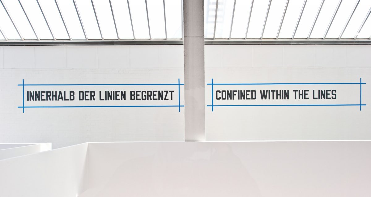 Lawrence Weiner Concentricity Per Se 2012 Installation View Courtesy The Artist And Blain Southern 6