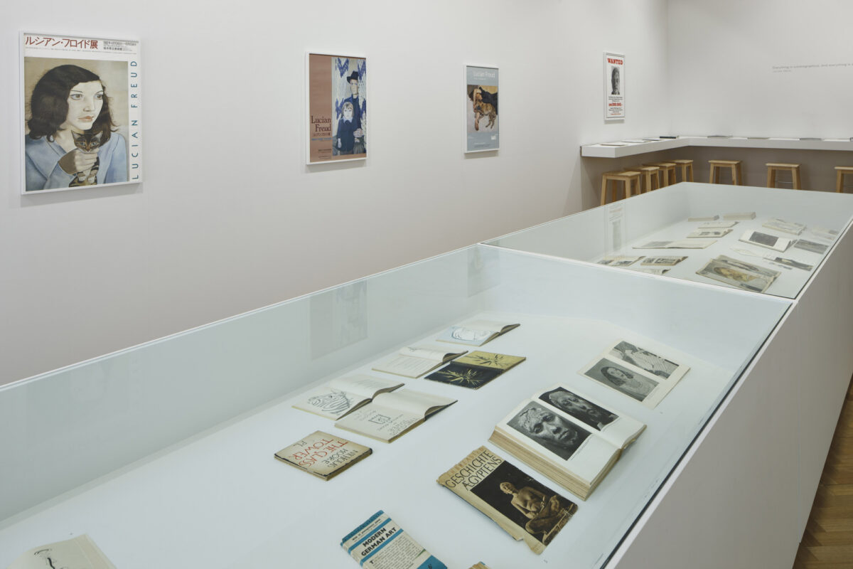 Lucian Freud Archive 2012 Installation View Courtesy The Artist And Blain Southern 3