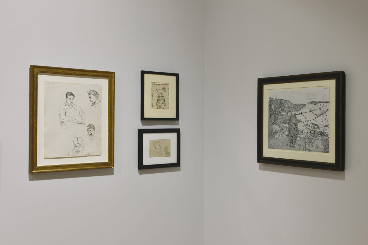 Lucian Freud Drawings 2012 Installation View Courtesy The Artist And Blain Southern 2
