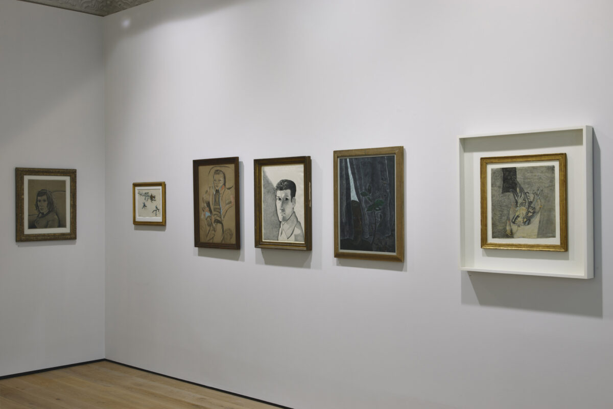Lucian Freud Drawings 2012 Installation View Courtesy The Artist And Blain Southern 4