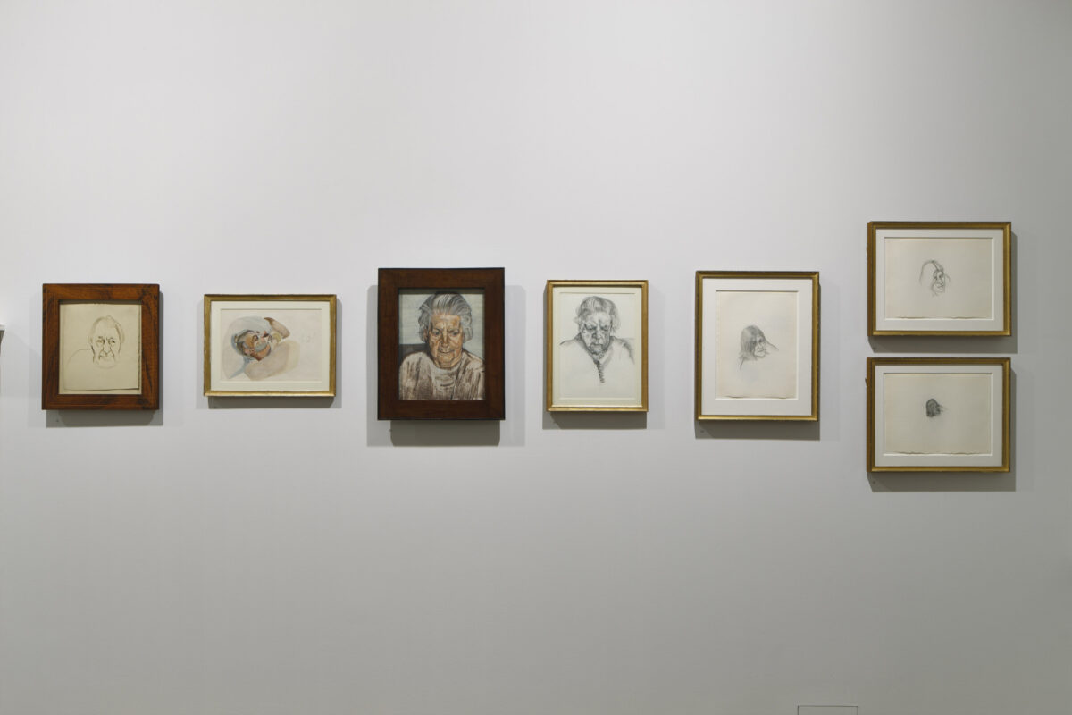 Lucian Freud Drawings 2012 Installation View Courtesy The Artist And Blain Southern 6