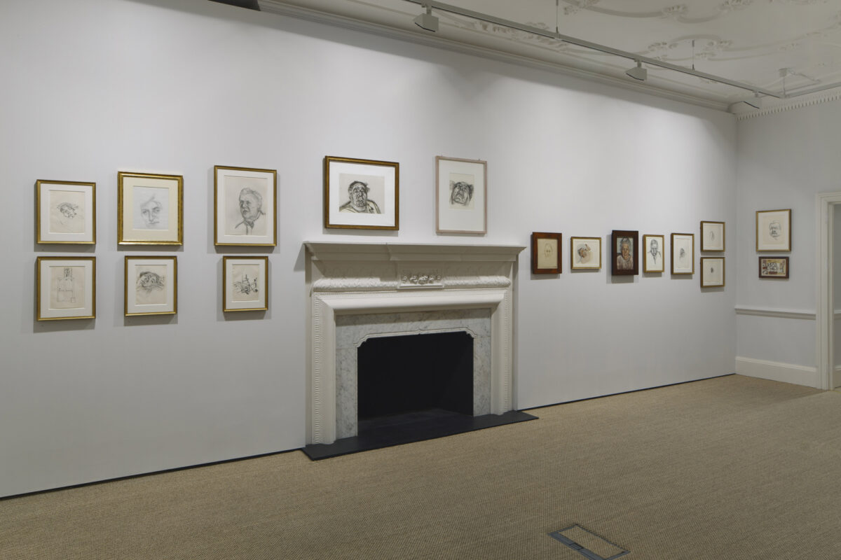 Lucian Freud Drawings 2012 Installation View Courtesy The Artist And Blain Southern 7