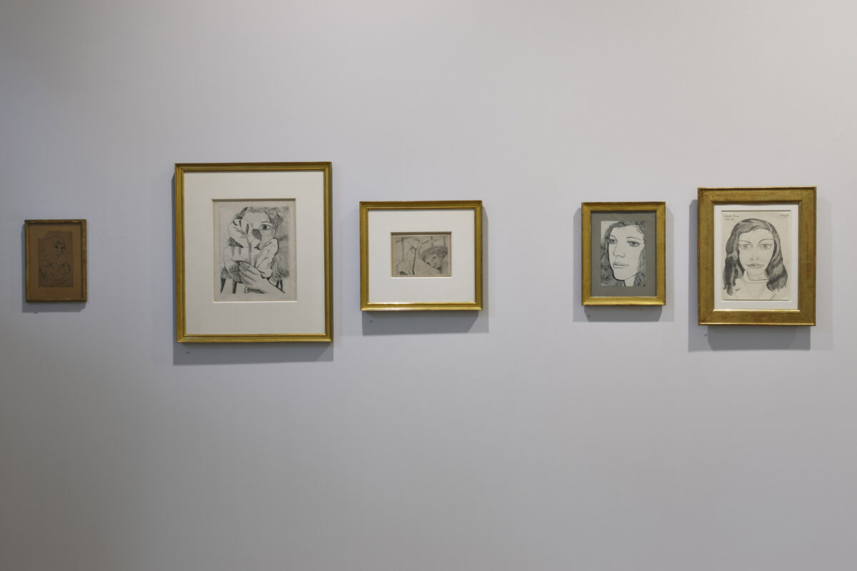 Lucian Freud Drawings 2012 Installation View Courtesy The Artist And Blain Southern 8