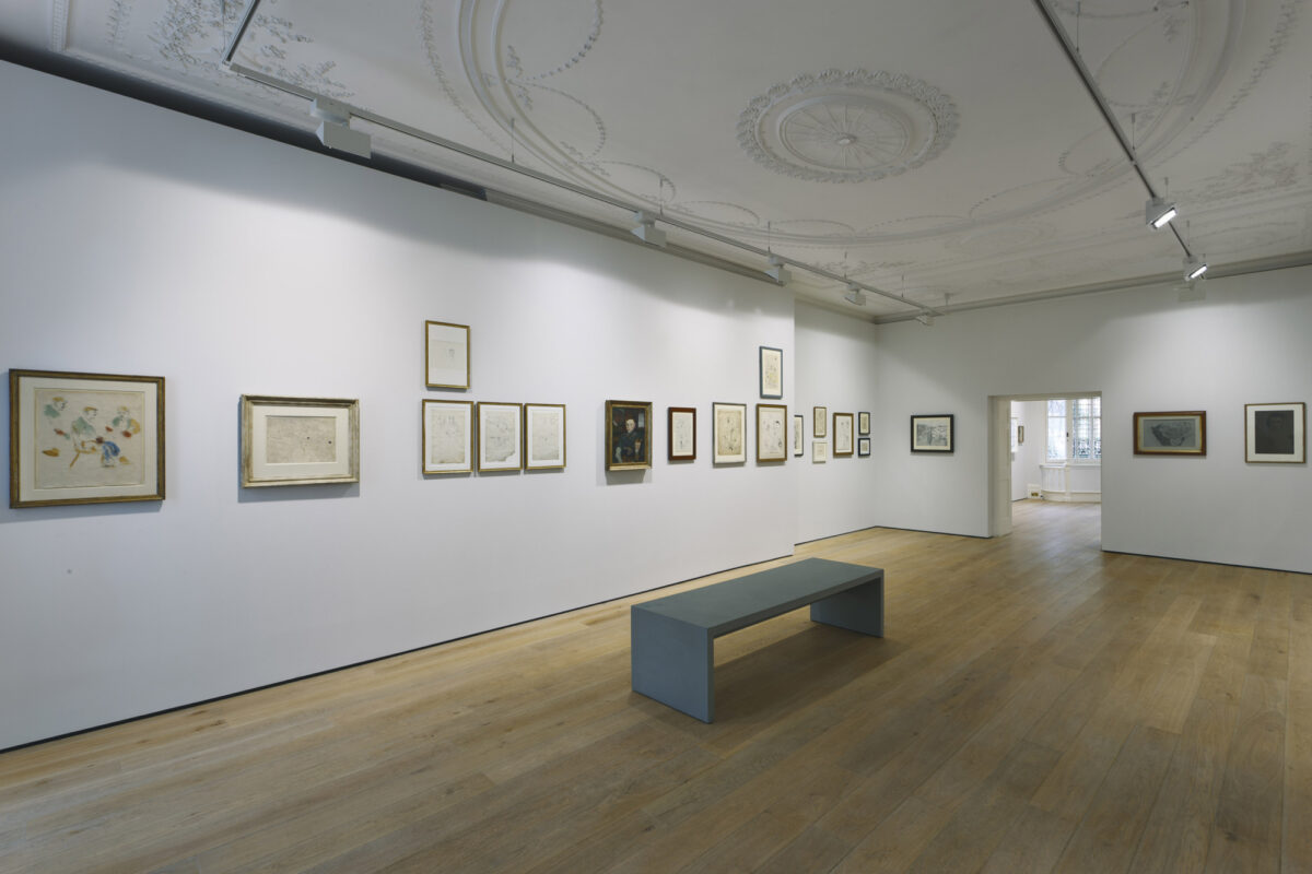 Lucian Freud Drawings 2012 Installation View Courtesy The Artist And Blain Southern