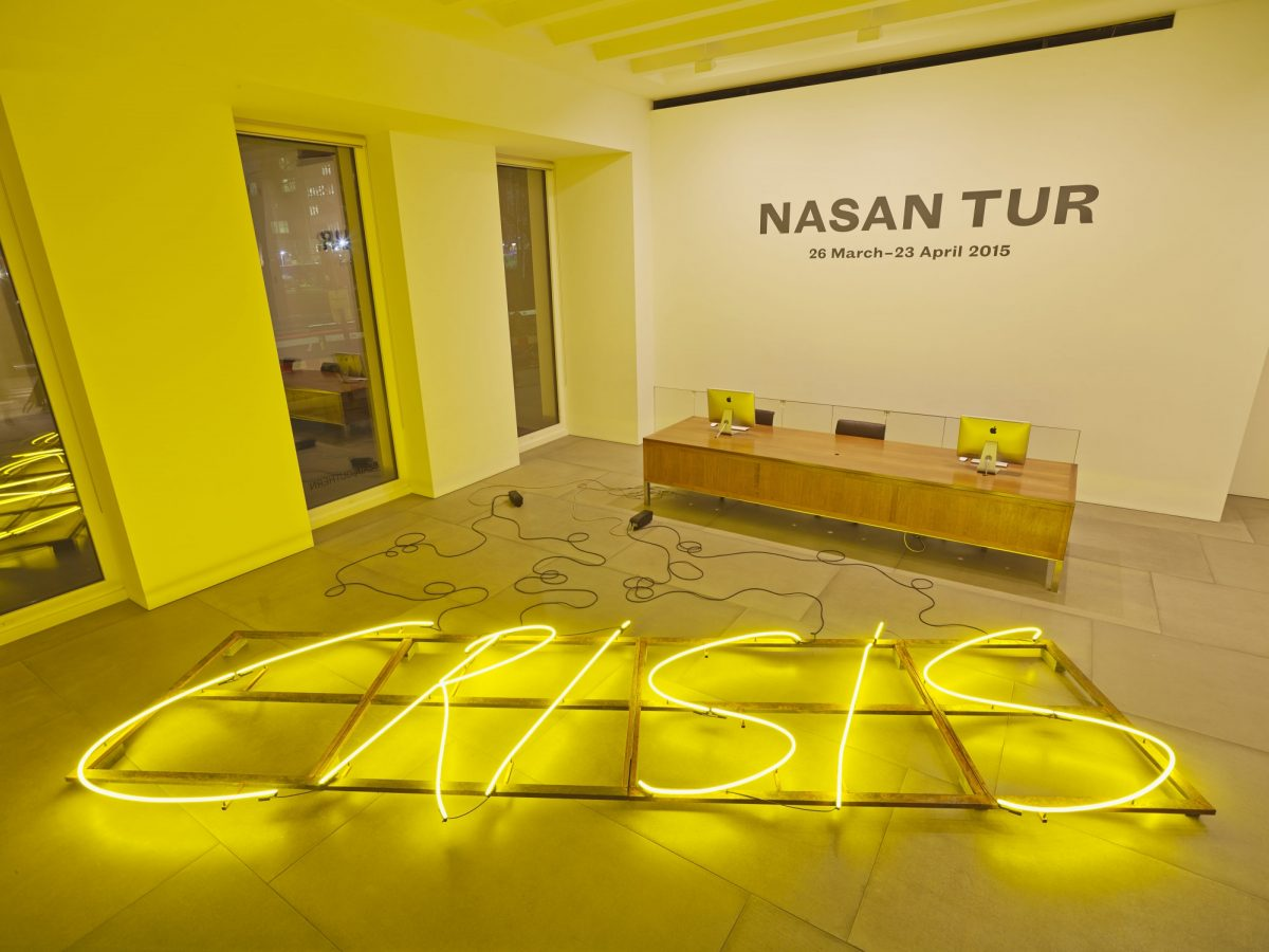 Nasan Tur 2015 Installation View Courtesy The Artist And Blain Southern 7