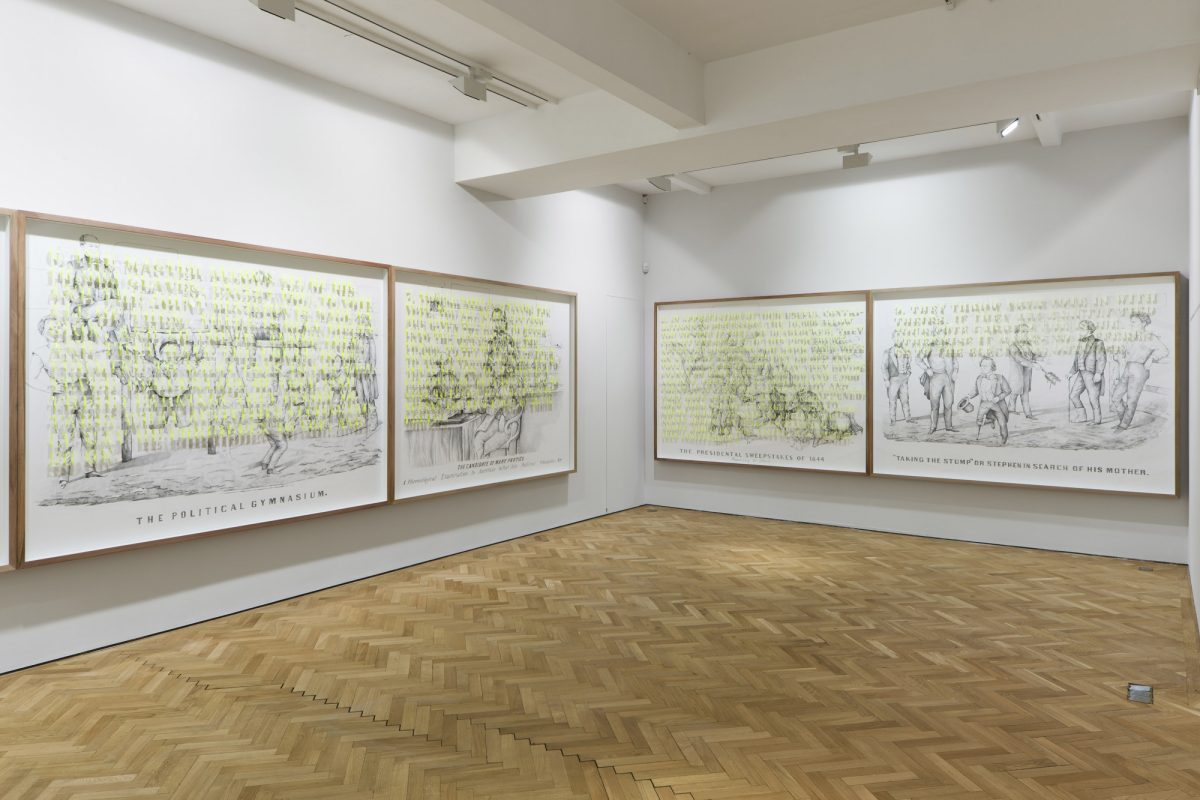 Pietro Ruffo The Political Gymnasium 2012 Installation View Courtesy The Artist And Blain Southern Photo Peter Malle 2