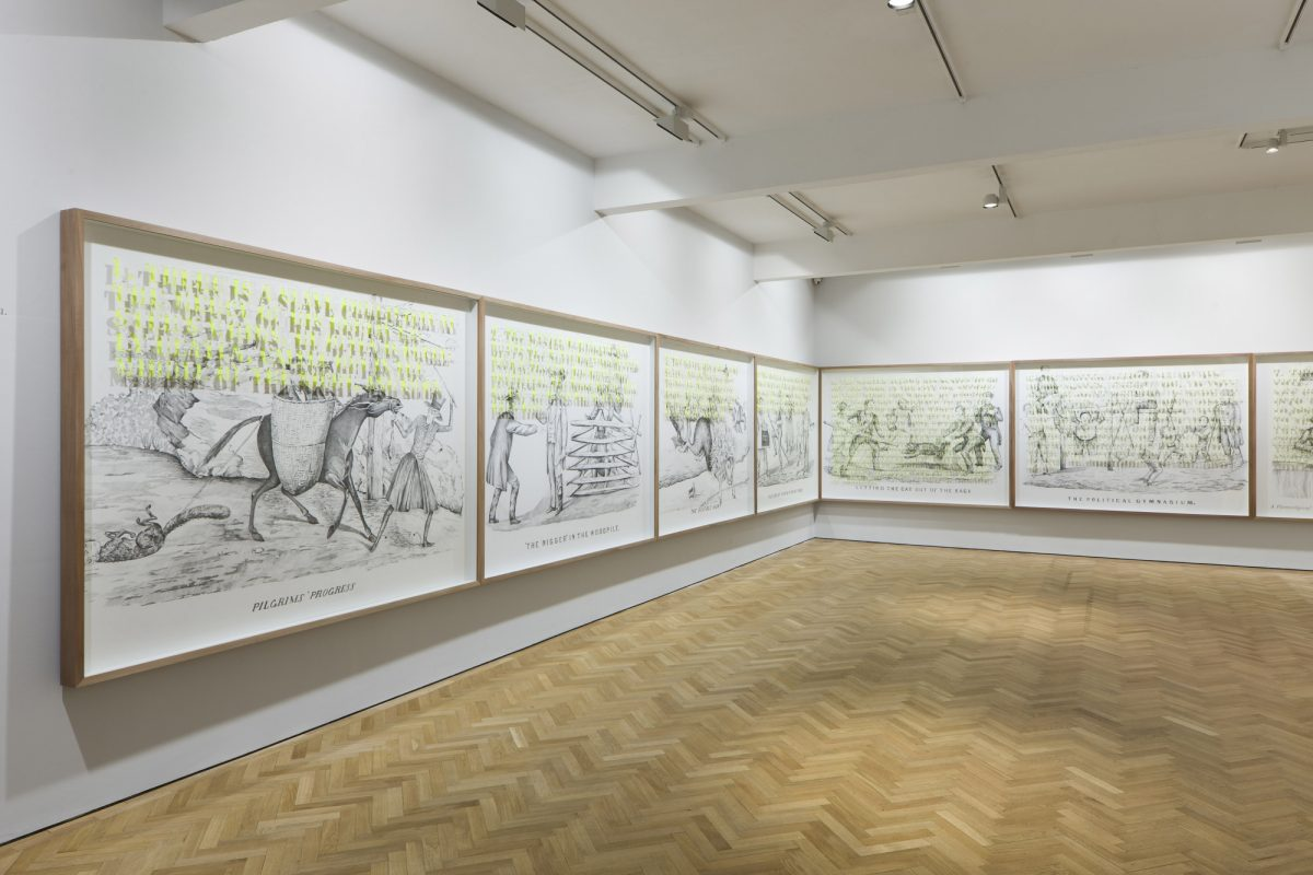 Pietro Ruffo The Political Gymnasium 2012 Installation View Courtesy The Artist And Blain Southern Photo Peter Malle