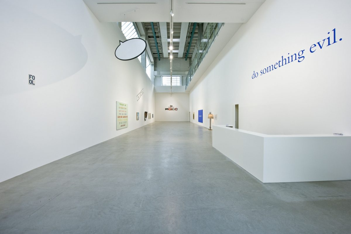 Sed Tantum Dic Verbo Just Say The Word 2014 Installation View Blain Southern Berlin 6