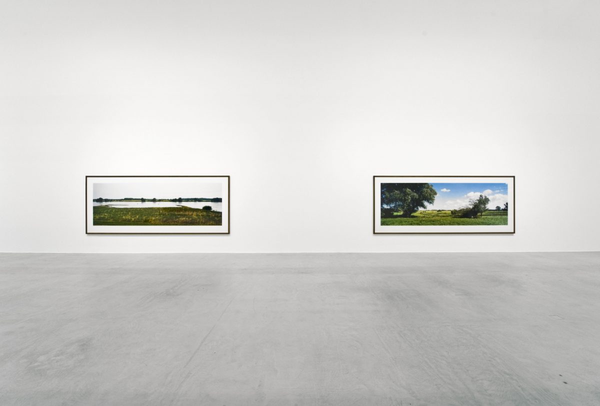 Wim Wenders Time Capsules  By The Side Of The Road 2015 Installation Views Courtesy The Artist And Blain South