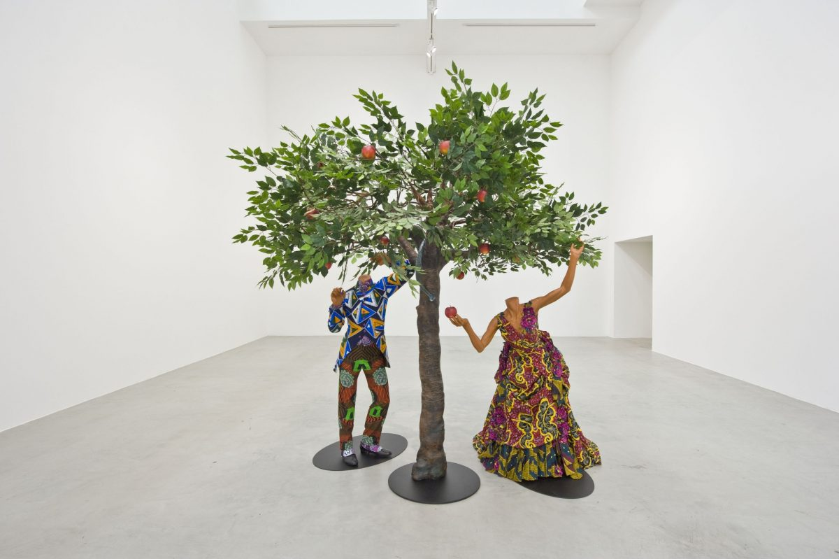 Yinka Shonibare Mbe Making Eden 2014 Installation View Blain Southern Photo Christian Glaeser 6