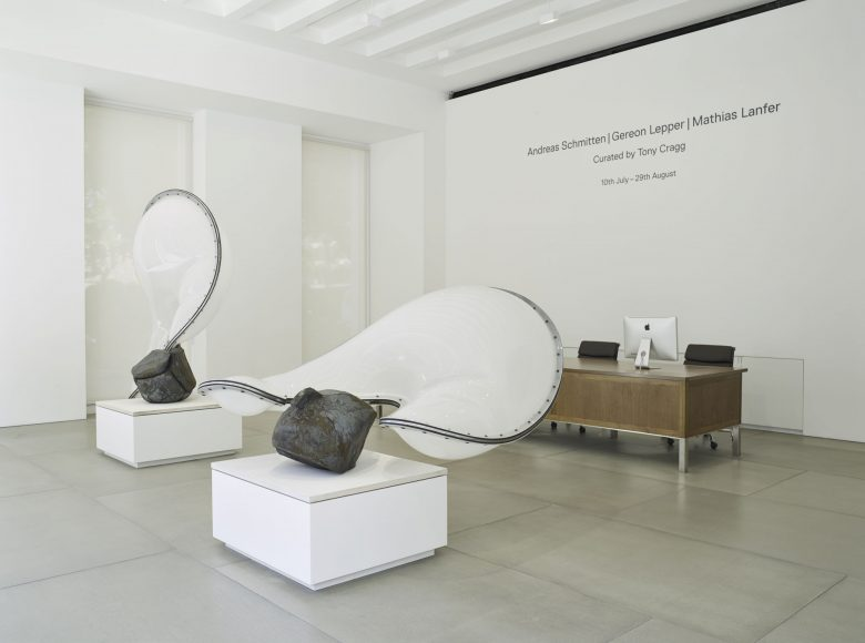 Andreas Schmitten, Gereon Lepper and Mathias Lanfer curated by Tony Cragg