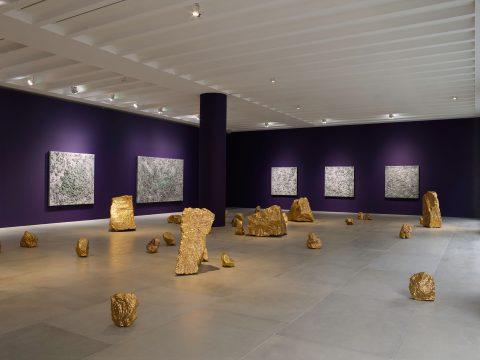 Bosco Sodi at Museo de Artes Visuales, Chile