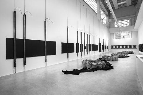 Jannis Kounellis discusses his solo exhibition