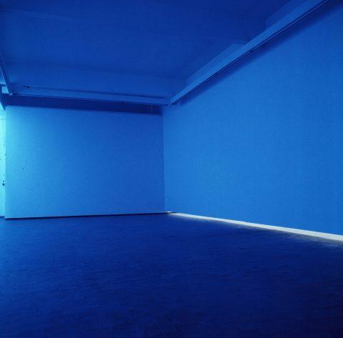 Natural Light, Blue Light Room