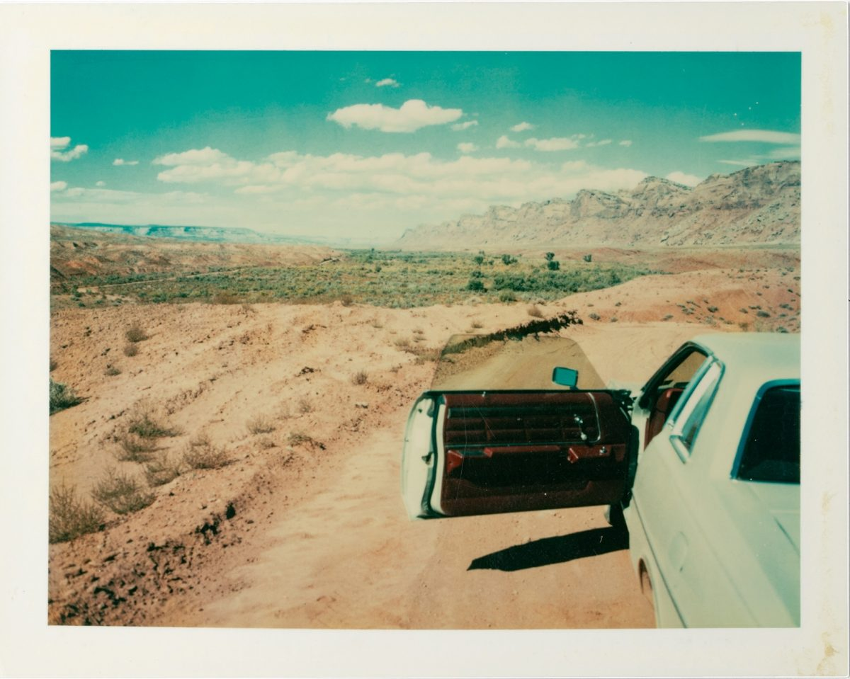 Valley Of The Gods Utah 1977 © Wim Wenders