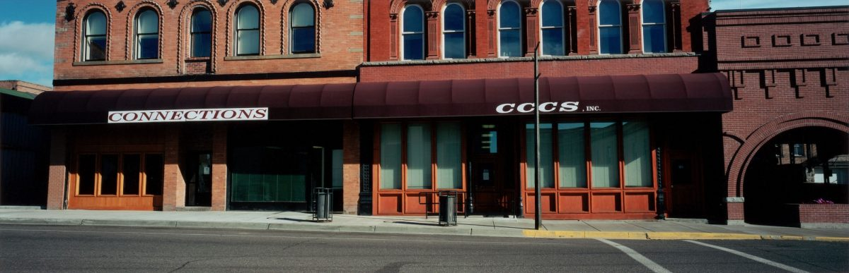 Street Front in Butte, Montana