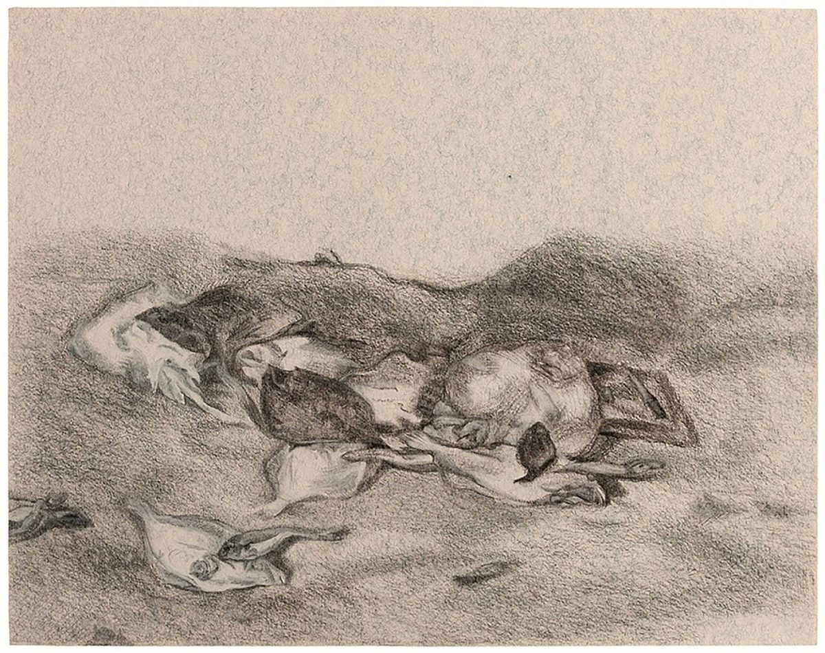 Drawing after Turner